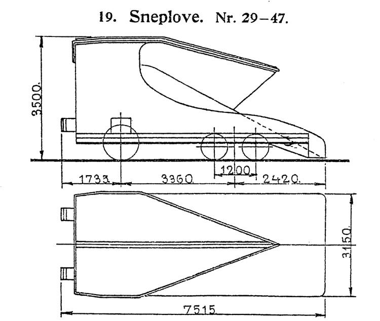 DSB Sneplov nr. 47