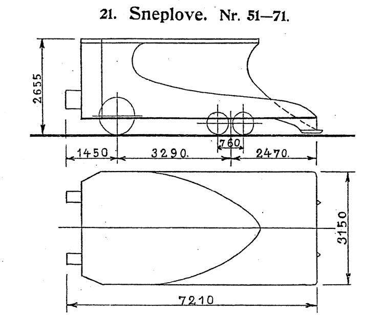DSB Sneplov nr. 61