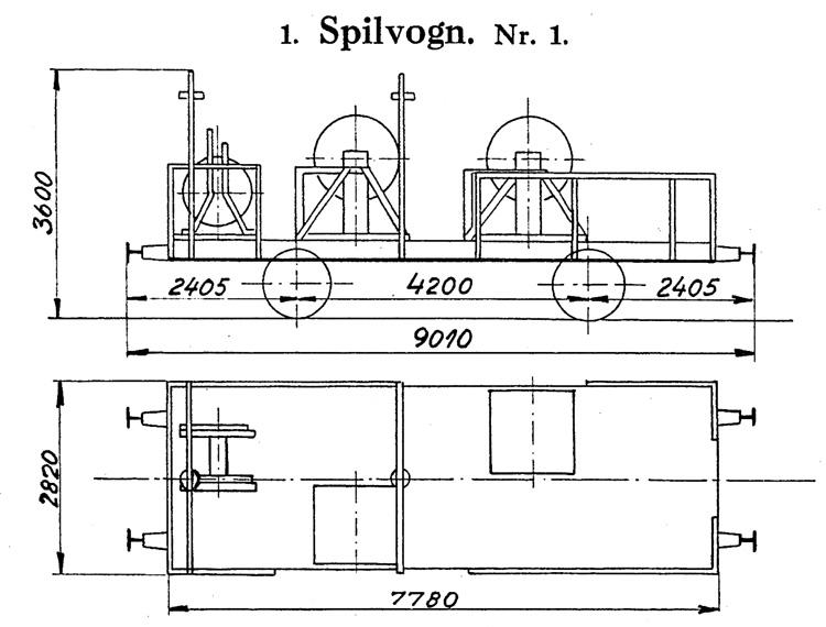 DSB Spilvogn nr. 1