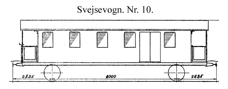 DSB Svejsevogn nr. 10