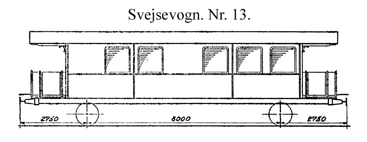 DSB Svejsevogn nr. 13