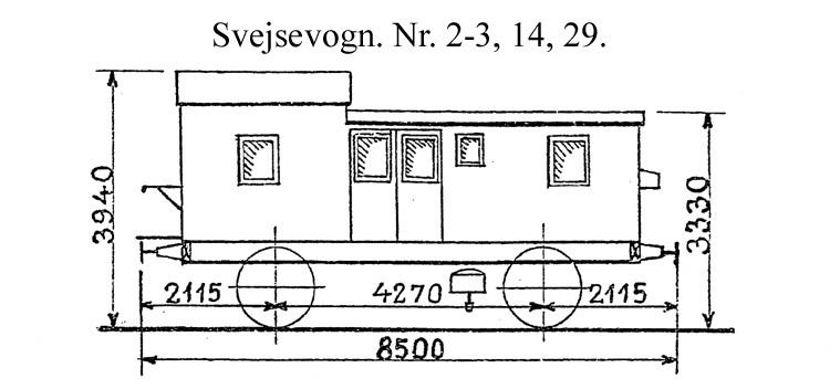 DSB Svejsevogn nr. 14