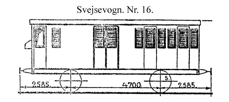 DSB Svejsevogn nr. 16