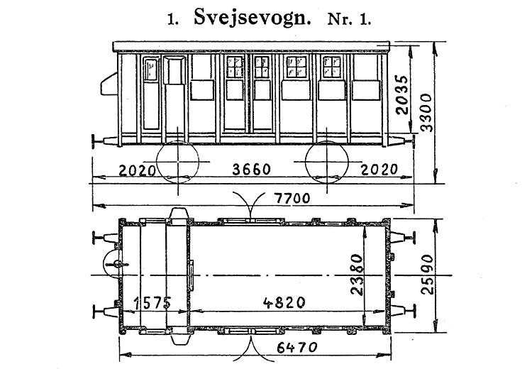 DSB Svejsevogn nr. 1