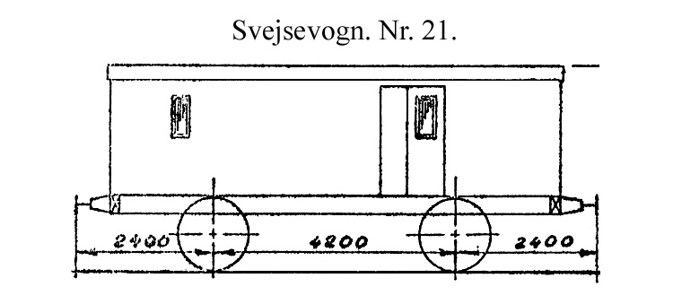 DSB Svejsevogn nr. 21