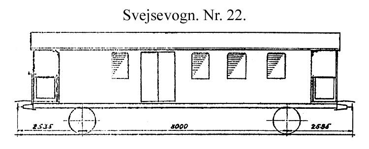 DSB Svejsevogn nr. 22