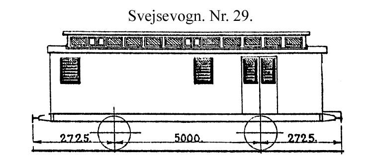 DSB Svejsevogn nr. 29