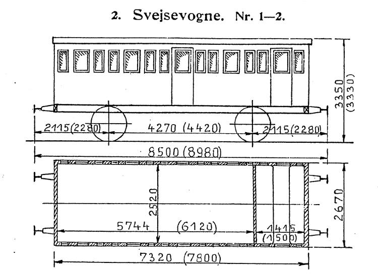 DSB Svejsevogn nr. 2