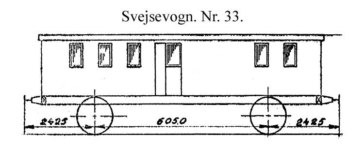 DSB Svejsevogn nr. 33