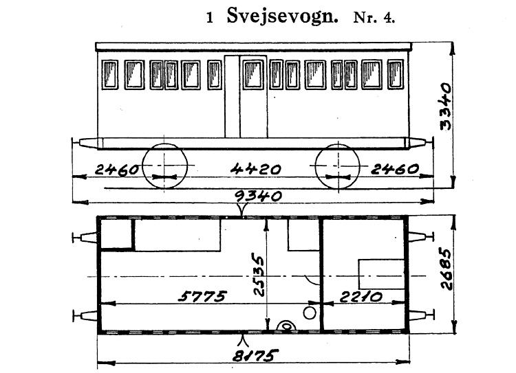 DSB Svejsevogn nr. 4