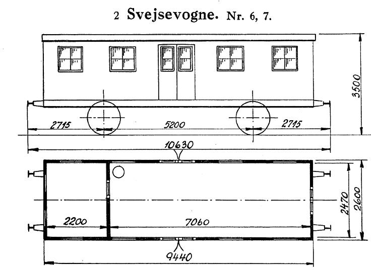 DSB Svejsevogn nr. 6