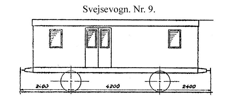 DSB Svejsevogn nr. 9