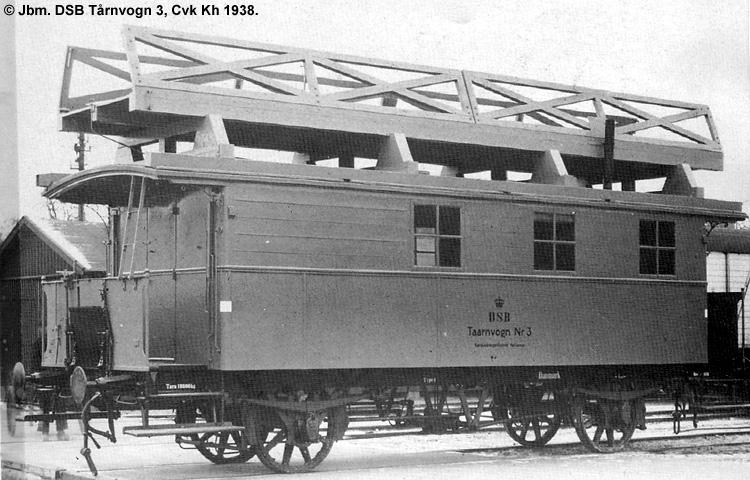 DSB Tårnvogn nr. 3