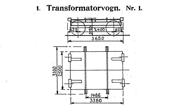 DSB Transformatorvogn nr. 1