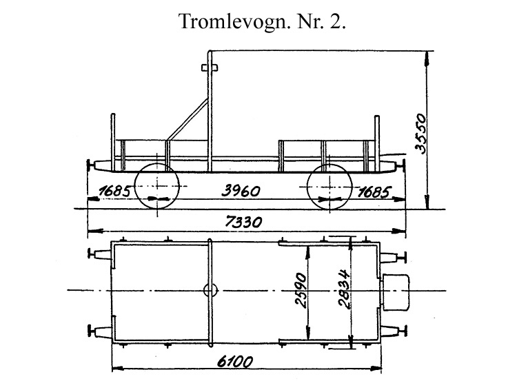 DSB Tromlevogn for Køreledningstilsynet nr. 2