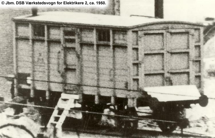 DSB Værkstedsvogn for Elektrikere nr. 2