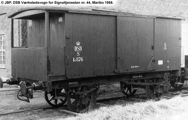 DSB Værkstedsvogn for Signaltjenesten nr. 44