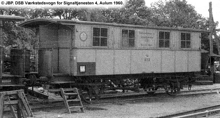 DSB Værkstedsvogn for Signaltjenesten nr. 4