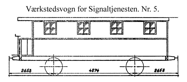 DSB Værkstedsvogn for Signaltjenesten nr. 5