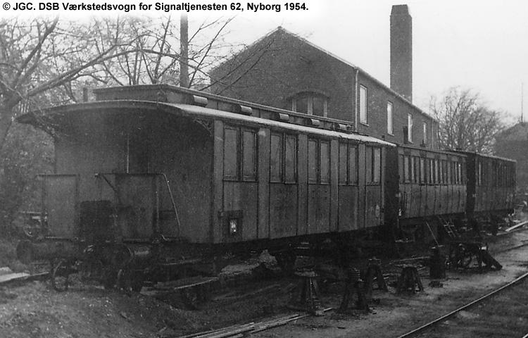 DSB Værkstedsvogn for Signaltjenesten nr. 62