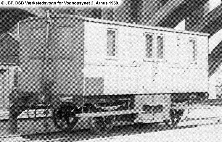 DSB Værkstedsvogn for Vognopsynet nr. 2