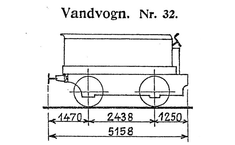 DSB Vandvogn nr. 32