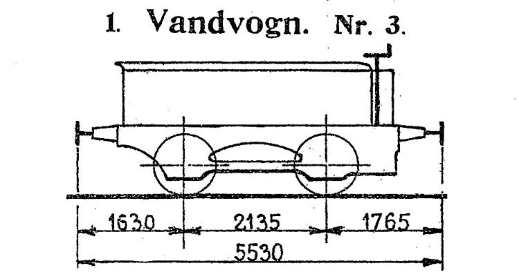 DSB Vandvogn nr. 3