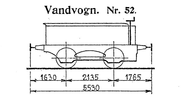 DSB Vandvogn nr. 52