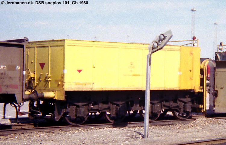 DSB Specialvogn 101<br>Sneplov