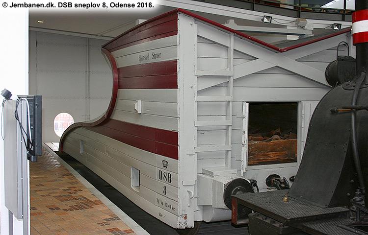 DSB Specialvogn 8<br>Sneplov