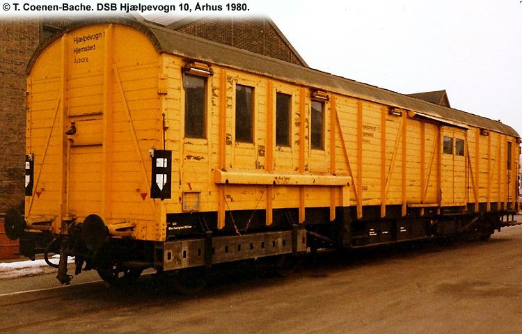 DSB Specialvogn 10<br>Hjælpevogn