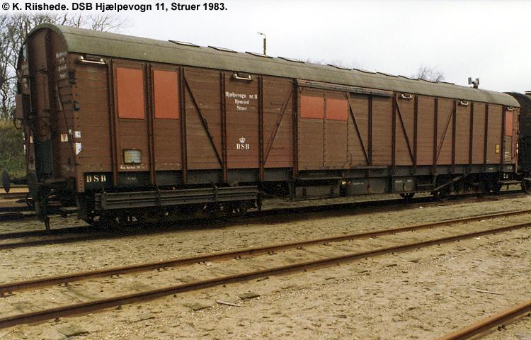 DSB Specialvogn 11<br>Hjælpevogn
