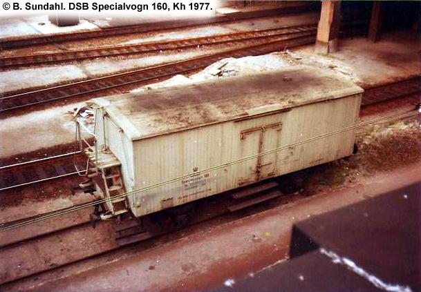 DSB Specialvogn 160<br>Bedriftsværnsvogn