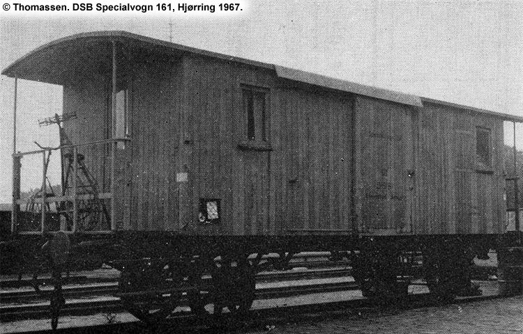 DSB Specialvogn 161<br>Betonsprøjtevogn