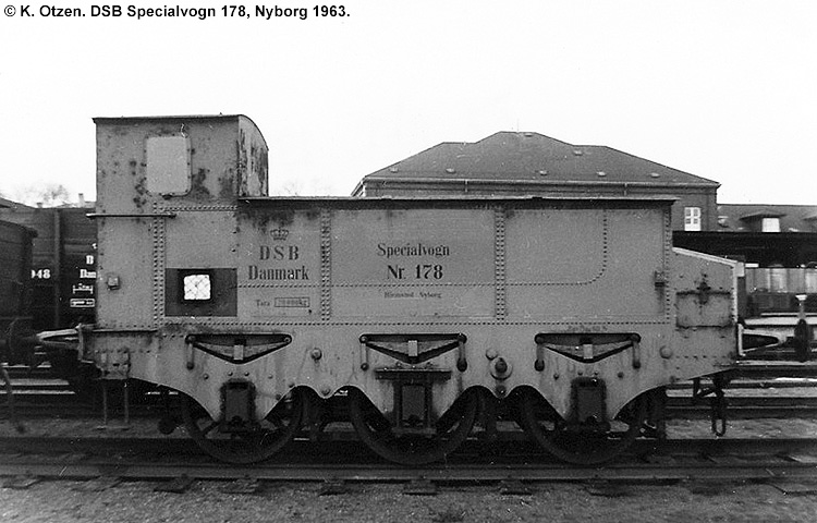 DSB Specialvogn 178<br>Brovægtsprøvevogn