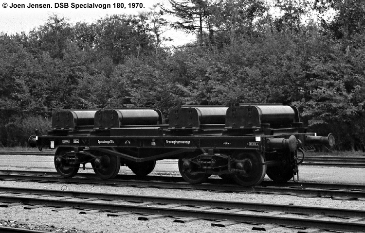 DSB Specialvogn 180<br>Brovægtsprøvevogn