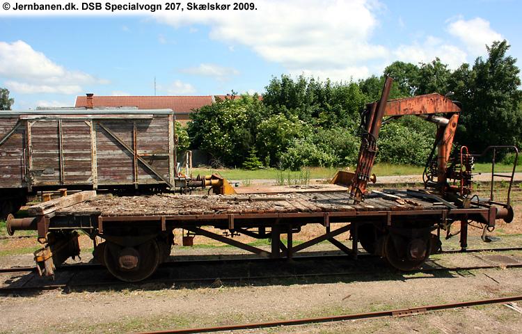 DSB Specialvogn 207<br>Ballastvogn