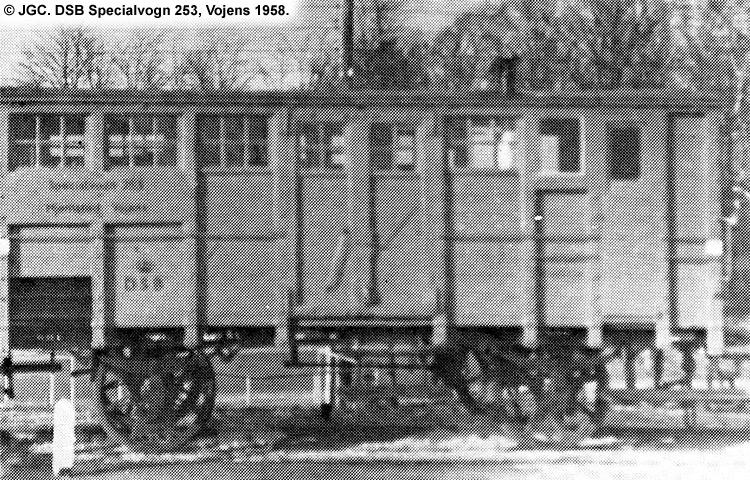 DSB Specialvogn 253<br>Bygningsvogn