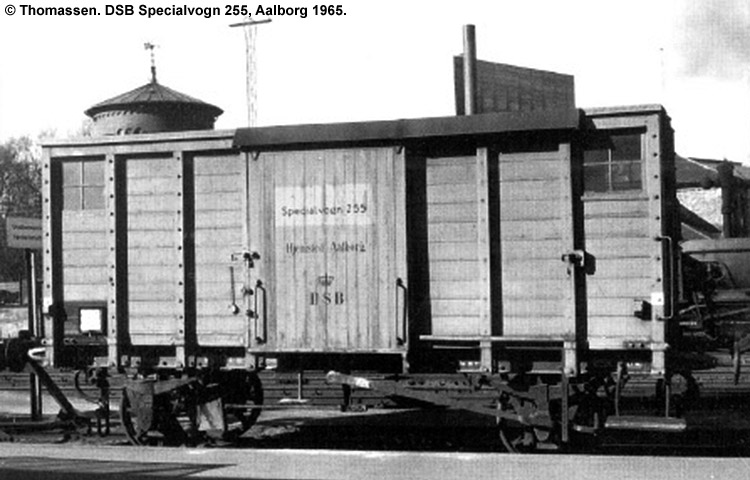 DSB Specialvogn 255<br>Bygningsvogn