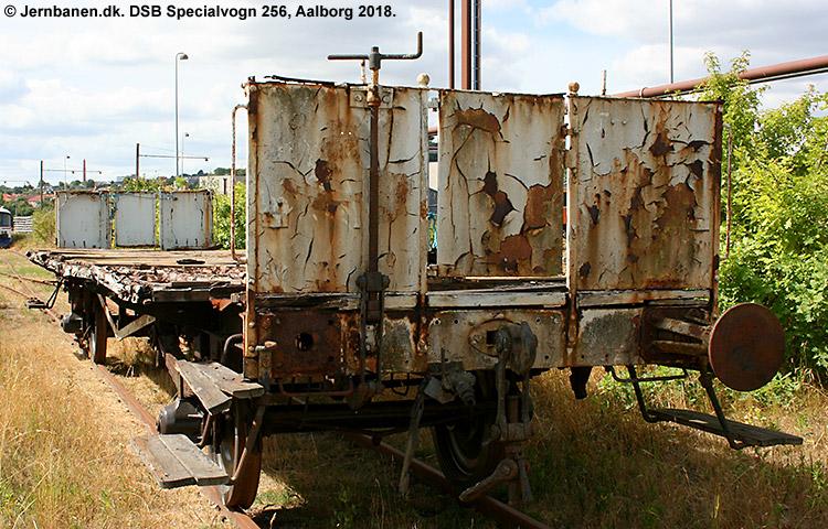 DSB Specialvogn 256<br>Bygningsvogn