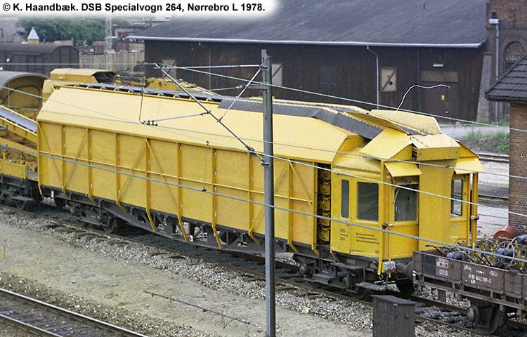 DSB Specialvogn 264<br>Båndtransportør