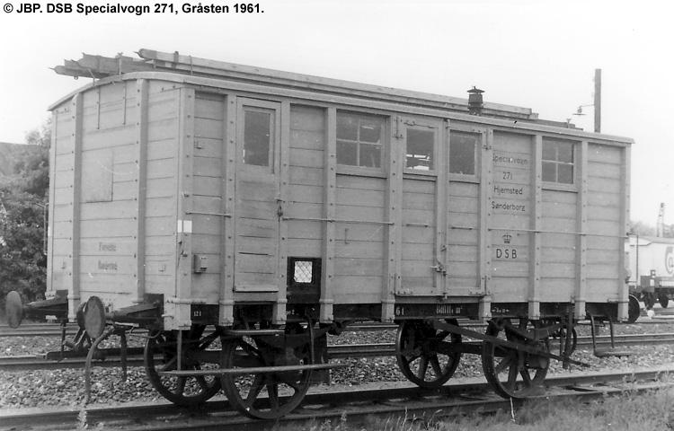 DSB Specialvogn 271<br>Bygningsvogn