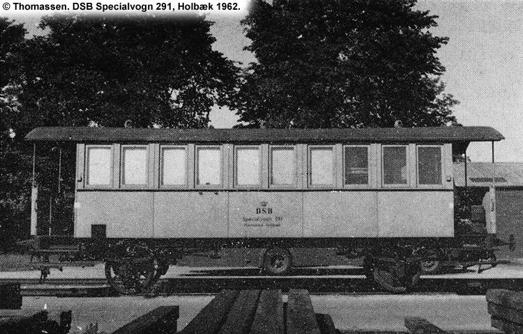 DSB Specialvogn 291<br>Bygningsvogn