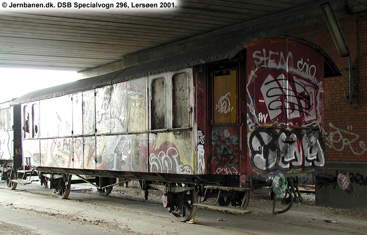 DSB Specialvogn 296<br>Bygningsvogn