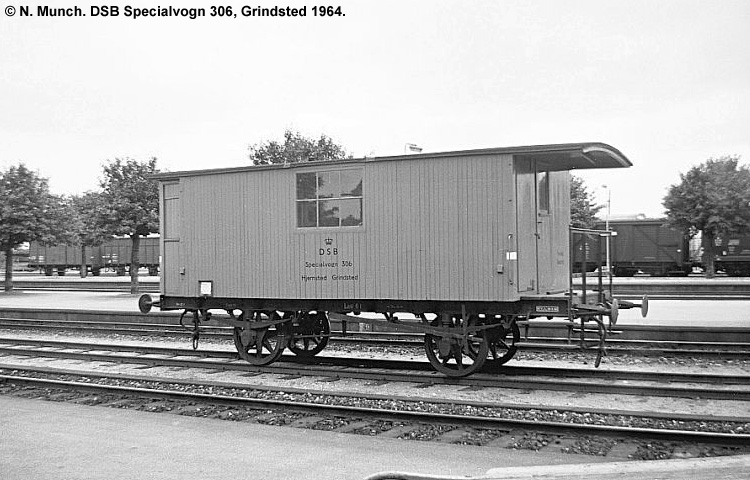DSB Specialvogn 306<br>Bygningsvogn