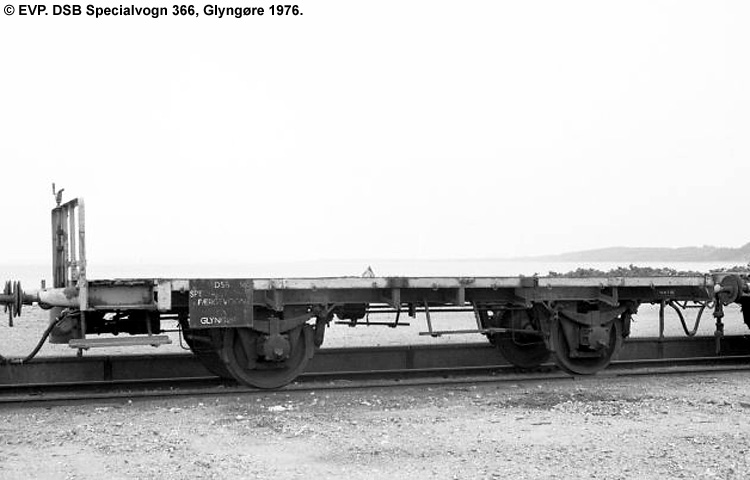 DSB Specialvogn 366<br>Færgevogn