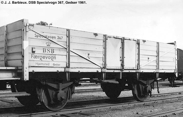 DSB Specialvogn 367<br>Færgevogn