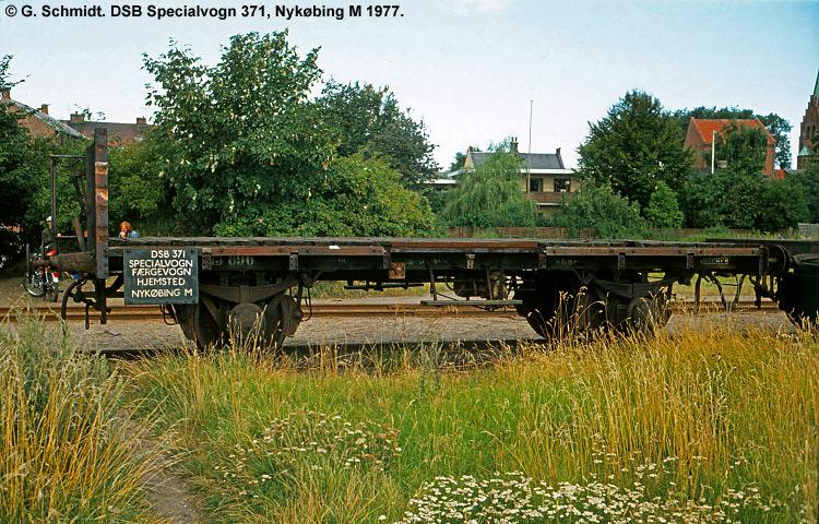 DSB Specialvogn 371<br>Færgevogn