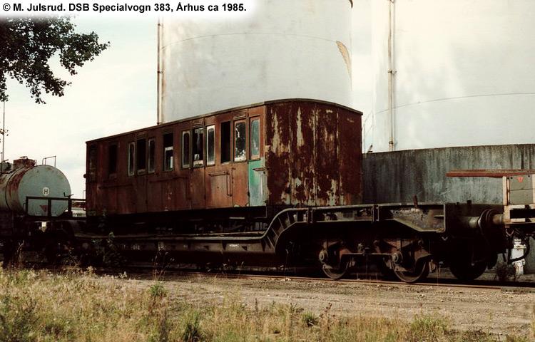 DSB Specialvogn 383<br>Kedelvogn