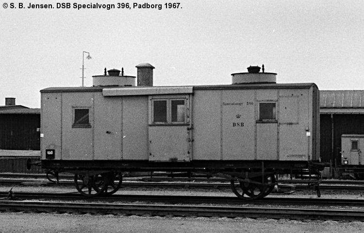 DSB Specialvogn 396<br>Kedelvogn